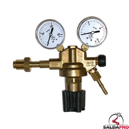 riduttore pressione azoto 300/315 atm 15/16 atm ottone