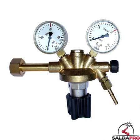riduttore pressione aria compressa 300/315 atm 15/16 atm ottone zinco