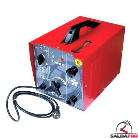 saldatrice ad arco per elettrodi rutilici 230-400V