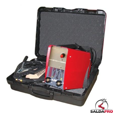 saldatrice mma inverter portatile 230v saldatura ad elettrodi