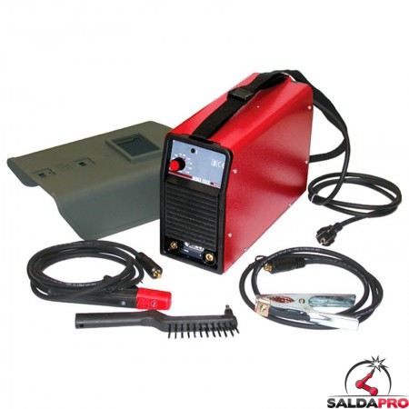 kit saldatrice mma inverter portatile 230v saldatura ad elettrodi