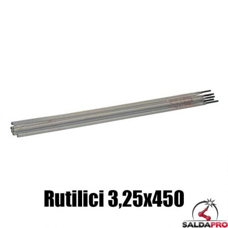 elettrodi rutilici 3,25x450mm saldatura 150 pezzi rivestimento rutile