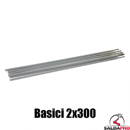 elettrodi basici 2x300mm saldatura 400 pezzi rivestimento basico