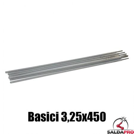 elettrodi basici 3,25x450mm saldatura 150 pezzi rivestimento basico