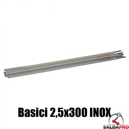 elettrodi basici 2,5x300mm saldatura inox 140 pezzi rivestimento basico basso contenuto carbonio