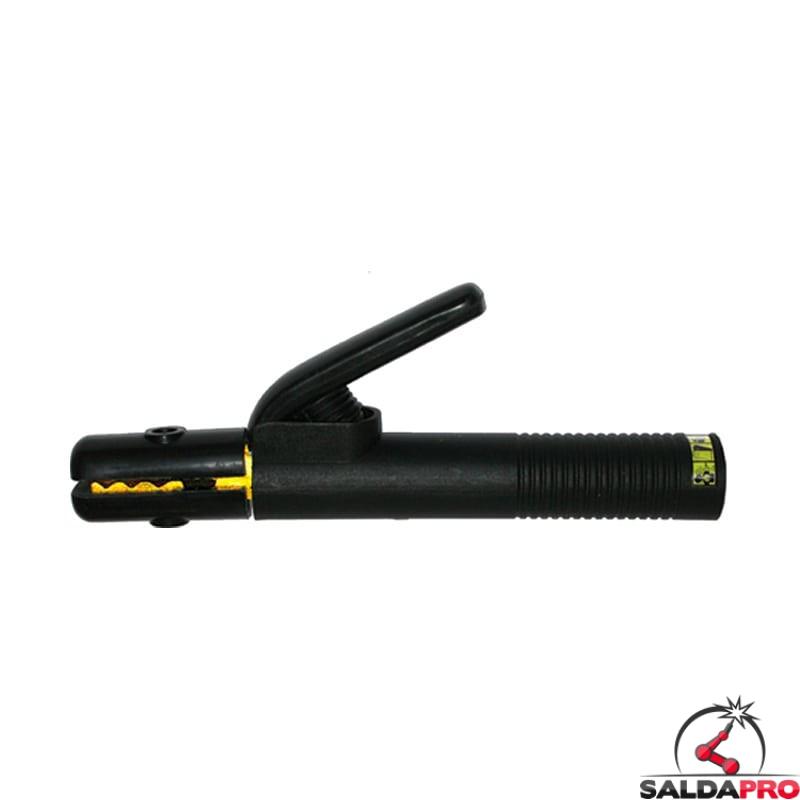 pinza porta elettrodo  con leva 200-600A diametro elettrodi 3-6mm saldatura