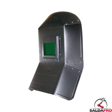 schermo saldatura inclinato fibra di vetro finestra 75x98 vetro inattinico verde