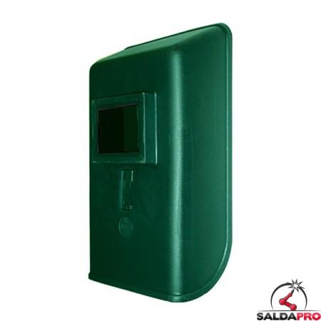 schermo saldatura diritto materiale plastico finestra 75x98 vetro inattinico verde