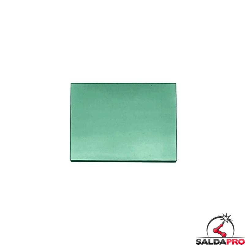 vetro inattinico spechiato 75x98 grado protezione din 10-13 maschera saldatura