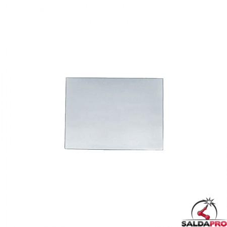 vetro trasparente 75x98mm per maschere saldatura 100 pezzi