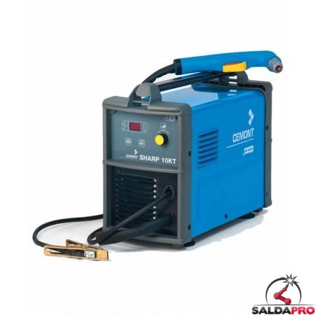 Taglio al Plasma SHARP 10KT CEMONT compressore integrato trifase 230V