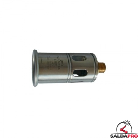tubo combustione diametro 30 40 45 50 60mm per prolunghe giunzione ewo