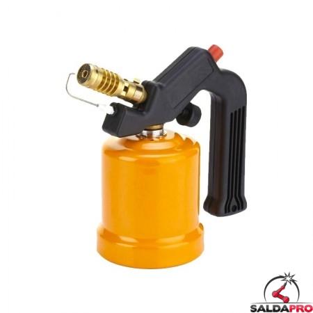 lampada saldatura cartuccia gas liquefatto bruciatore 18mm accensione piezoelettrica