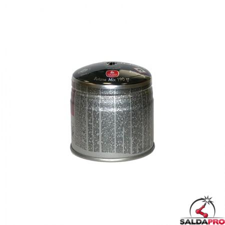 cartuccia gas liquefatto butano 190 gr per torce lampade saldatura