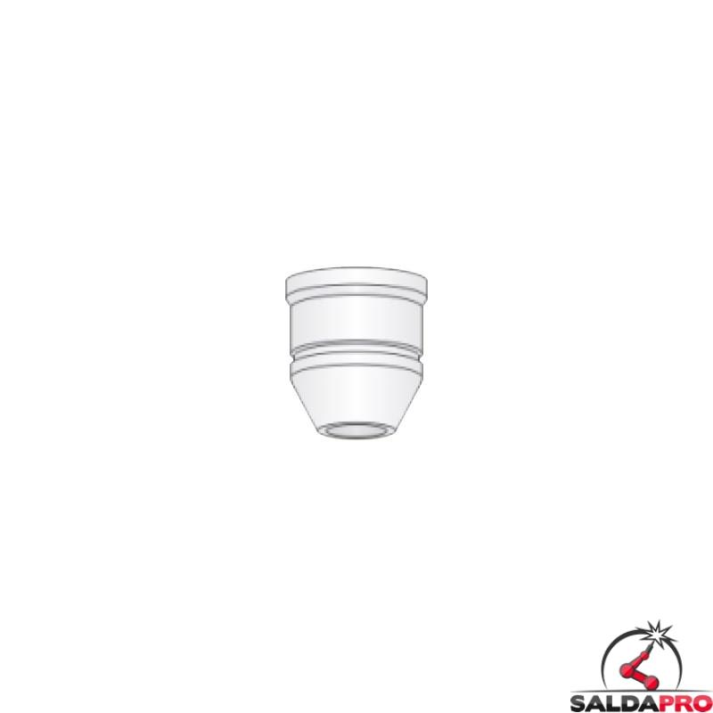 ugello esterno ceramica vetroresina ricambio torce taglio plasma ex100rf d1200 lincoln ews otc