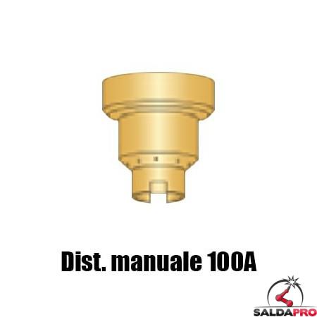 Distanziale 100A taglio contatto manuale torce Powermax65-85-105 Hypertherm (10pz)