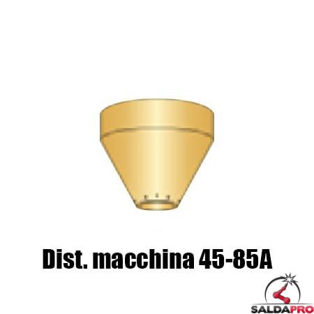 distanziale taglio contatto macchina ricambio torcia taglio plasma powermax65 85 105 hypertherm
