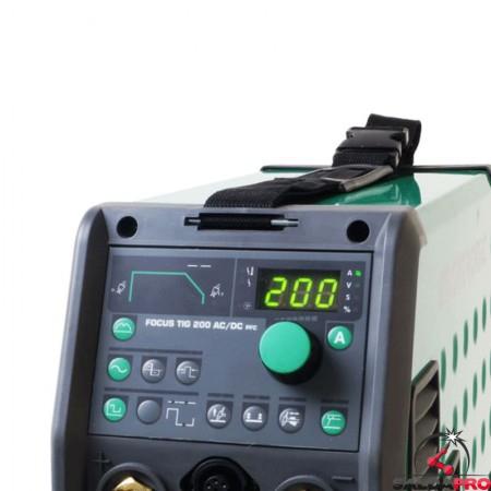 quadro comandi saldatrice focus tig 200 ac/dc migatronic saldatura tig mma