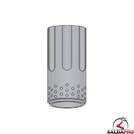 diffusore aria 100a lunga durata ricambio torce plasma serie t rt sistema powermax hypertherm