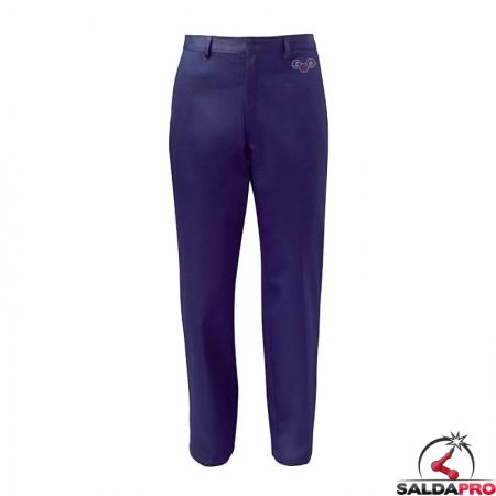 pantaloni protettivi cotone marte saldatura taglia 44-64