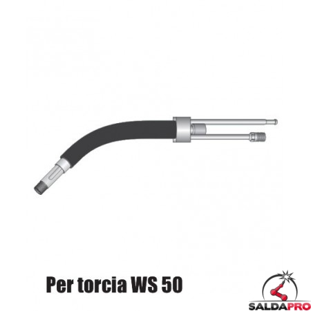Corpo torcia STD. con e senza portaugello per torcia WS 50