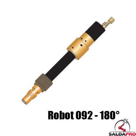 corpo torcia macchina ricambio robot 092 - 180° saldatura mig