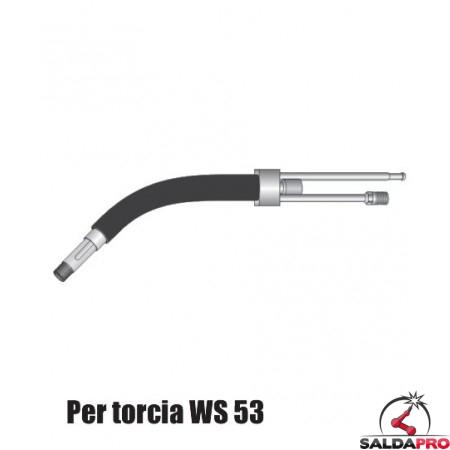 Corpo torcia STD. con e senza portaugello per torcia WS 53