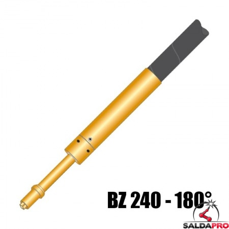 torcia completa automatica bz 240 - 180° raffreddamento acqua saldatura filo mig