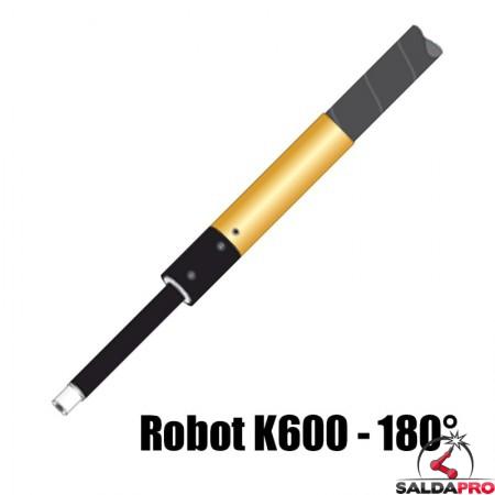 torcia completa automatica robot k600 collo 180° raffreddamento acqua saldatura mig
