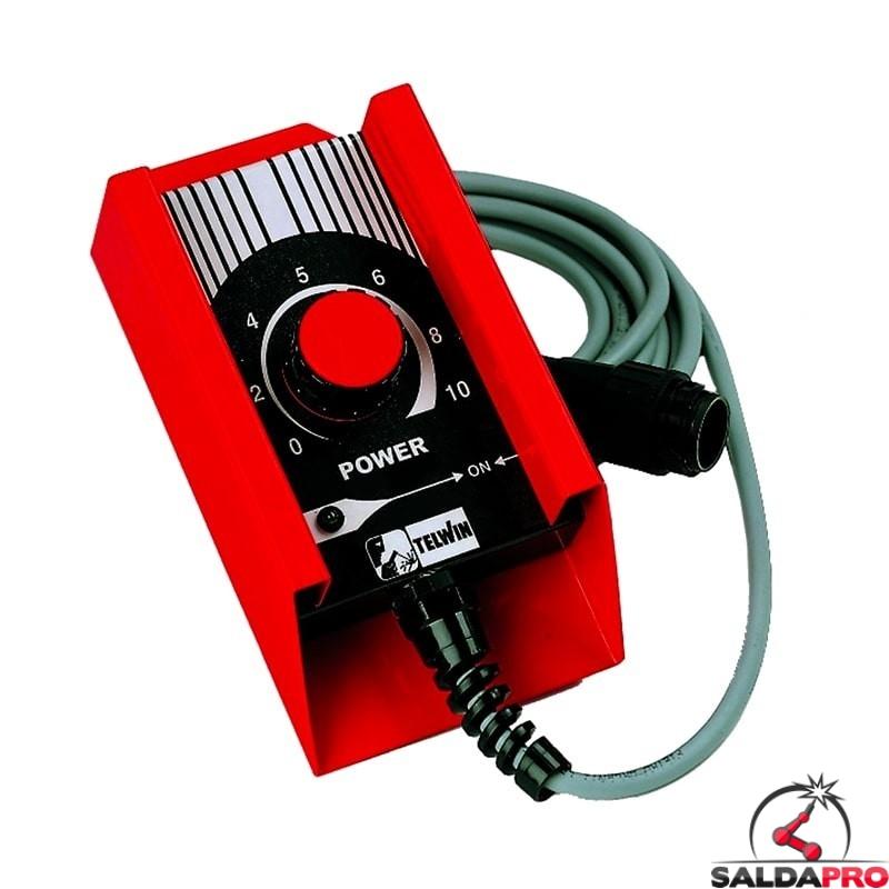 comando manuale distanza 1 potenziometro accessorio saldatrici telwin