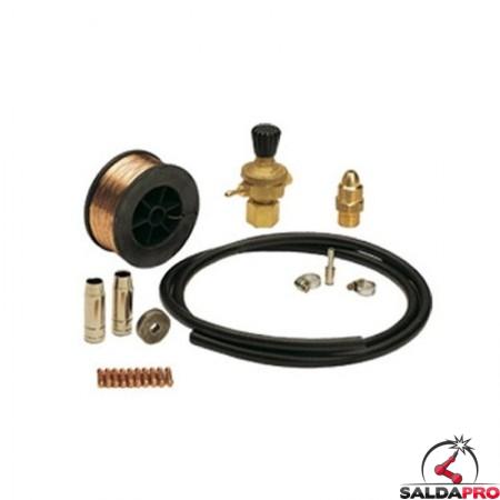 kit saldatura acciaio per bombola gas ricaricabile 802148 telwin