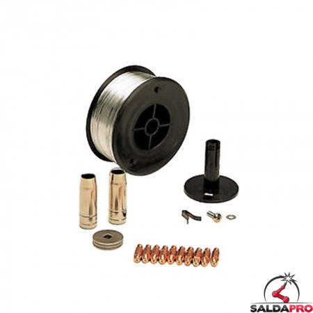 kit saldatura alluminio 0,8mm per saldatrici telwin 802036