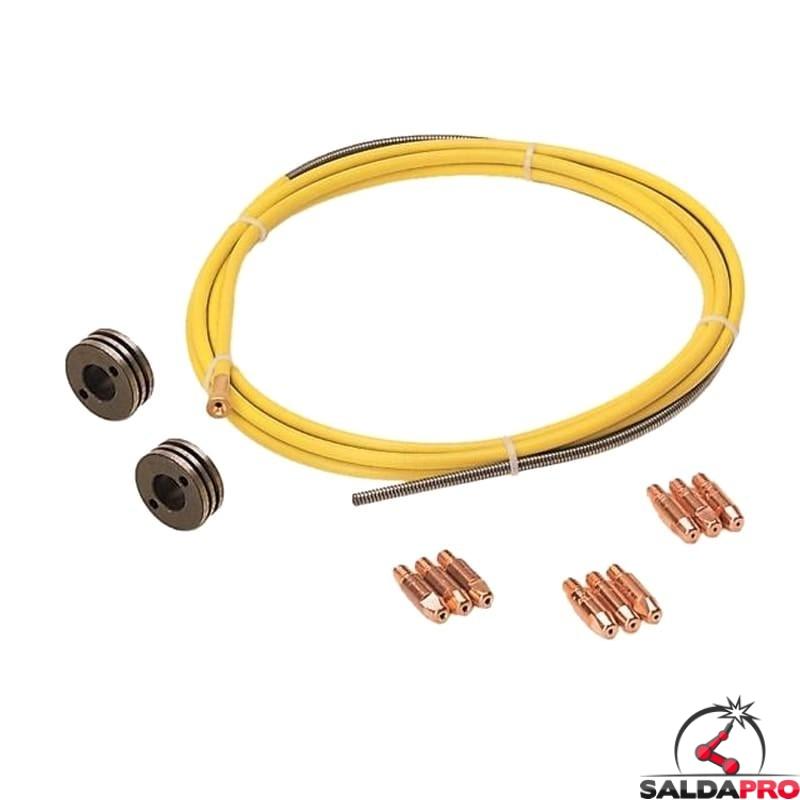 kit saldatura filo animato 1,0-1,6mm per saldatrici telwin 802466