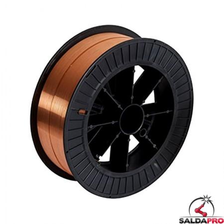 bobina filo acciaio 0,8mm 15kg saldatura mig mag telwin 802682