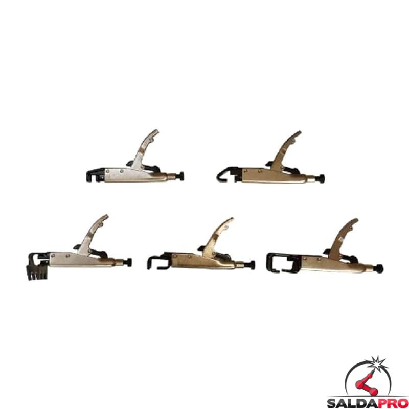 22339c6c3864 kit 5 pinze saldatura accessorio sistema automotive telwin 802627