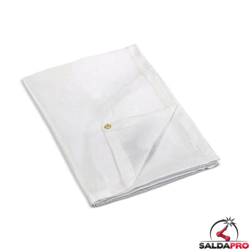 coperta anti calore bianca 150x194cm 1100° saldatura telwin 802679