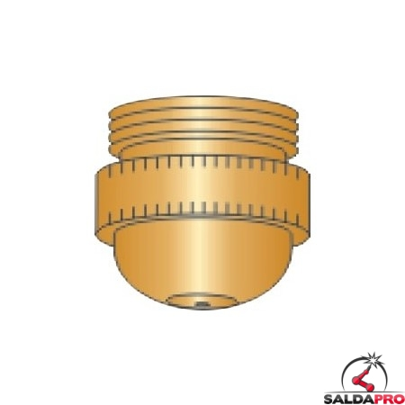 ugello rame ricambio torce taglio plasma psb 60 80 121 diametro 1,0 - 2,0 mm binzel