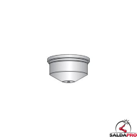 ugello diametro 1,0-1,6mm ricambio torcia taglio plasma abiplas cut 110 binzel