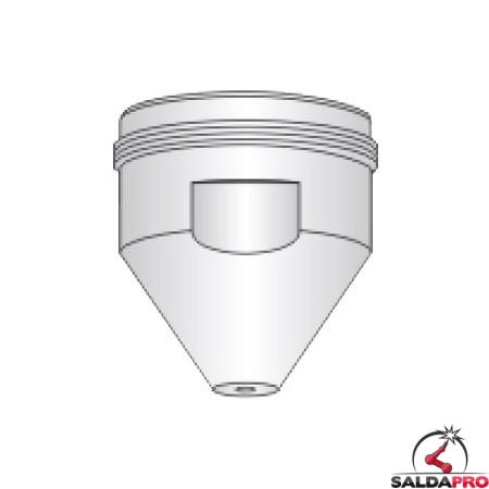 ugello superiore 100-250A ricambio torce taglio plasma PT 19 XL Esab / L-Tec