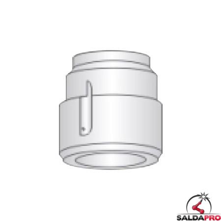 diffusore aria 15-100A ricambio torcia taglio plasma pt 24 di esab l-tec