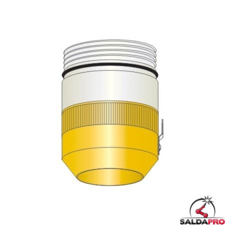 protezione esetrna 130A smusso acciaio inox ricambio torcia taglio plasma hpr130 hypertherm