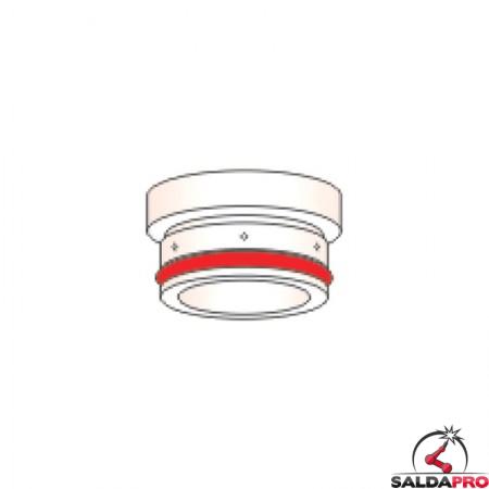 diffusore 30a acciaio dolce ricambio torce taglio plasma hpr 130 hypertherm 220193