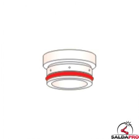 diffusore 200-260a acciaio ricambio torce taglio plasma hpr ec 260 hypertherm 220353