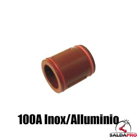 diffusore 100a inox alluminio ricambio torce taglio plasma hd1070 hd3070 hypertherm 120590