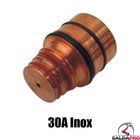 ugello 30a inox ricambio torce taglio plasma hd1070 hd3070 hypertherm 020938