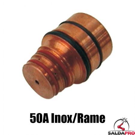 ugello 50a inox/rame ricambio torce taglio plasma hd1070 hd3070 hypertherm 020948