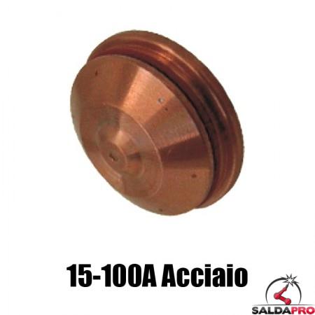 schermo 15-100a acciaio dolce ricambio torce taglio plasma hd1070 hd3070 hypertherm 020670
