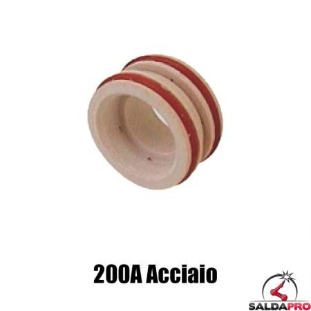 diffusore 200a acciaio ricambio torce taglio plasma max200 hypertherm 020604