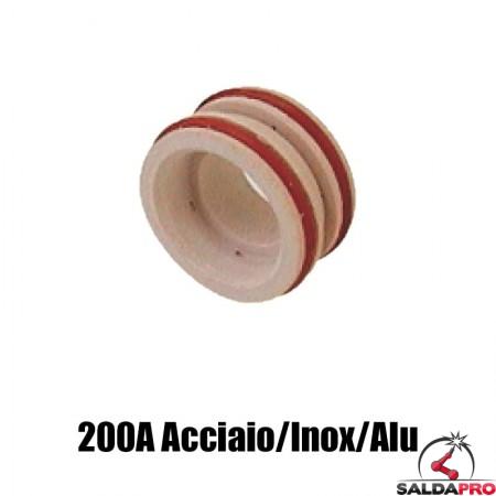 diffusore 200a acciaio inox alluminio ricambio torce taglio plasma ht2000 hypertherm 020679