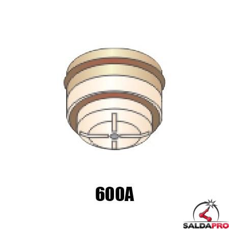 ugello .166 gas n2 400A ricambio torce taglio plasma pac500 hypertherm 020035